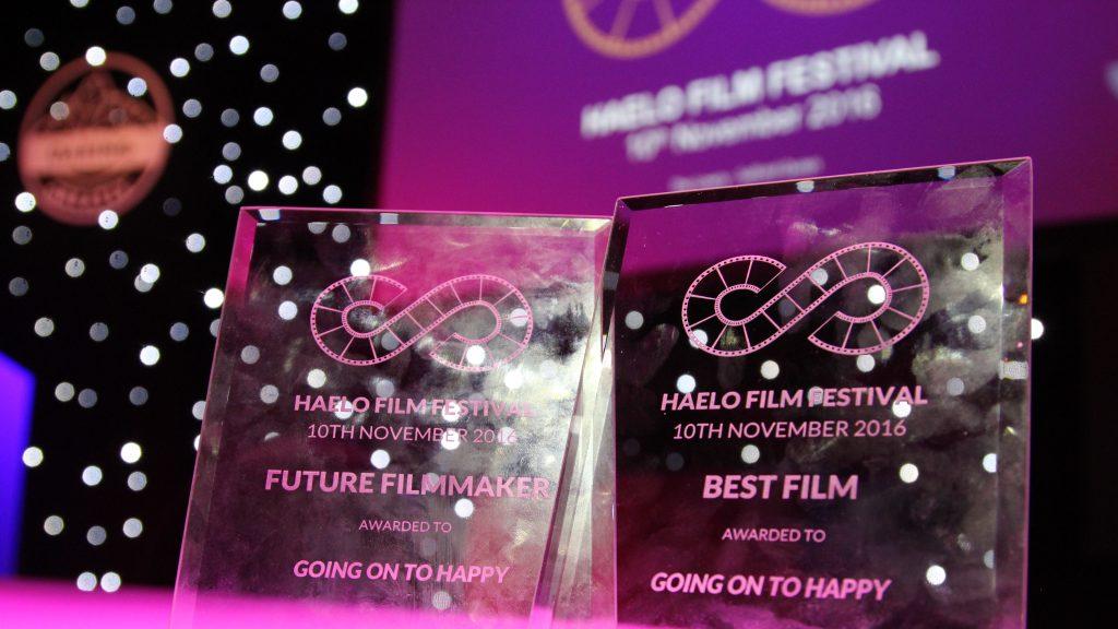 Going on to Happy Haelo Film Festival 2016 Awards for Future Filmmaker and Best Film