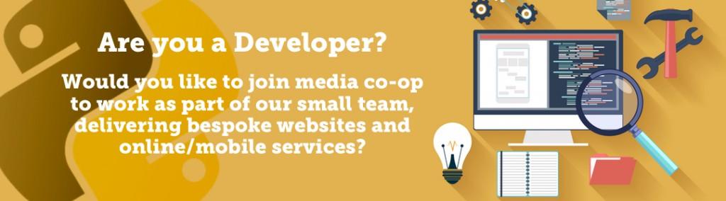 Developer banner